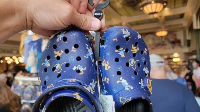 Disney World 50th Anniversary Crocs