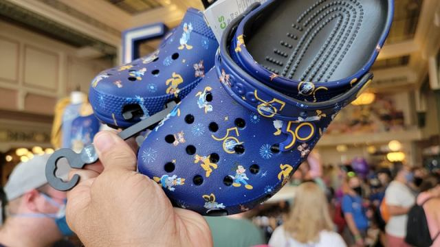 Step Out In Style With The Walt Disney World 50th Anniversary Crocs 1