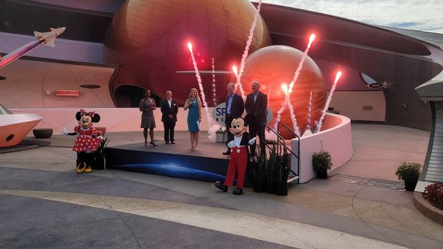 We have lift-off! Space 220 Restaurant in Epcot is now open! 2
