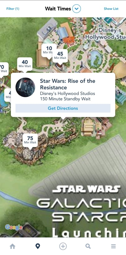 Insane crowds descend on Hollywood Studios for the Rise of the Resistance Standby queue 2