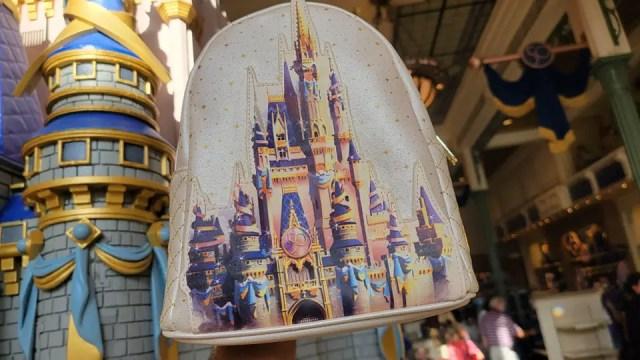 Shimmering New Walt Disney World 50th Anniversary Loungefly 1