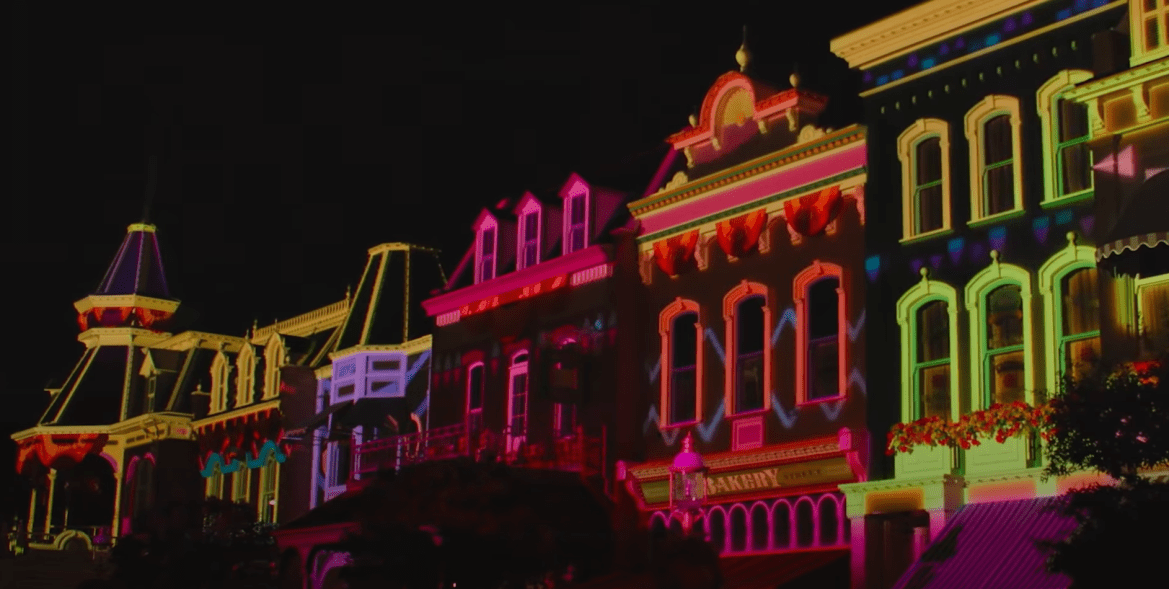 First look at the Main Street Projections for Disney Enchantment