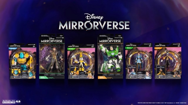 First Look at Disney Mirrorverse with New McFarlane Collectible Figures 2