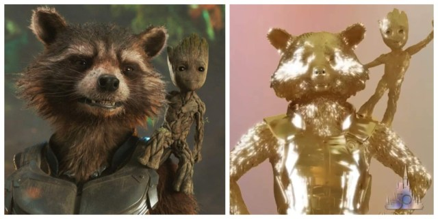 Rocket & Groot Join Disney Fab 50 Character Statues at EPCOT 1
