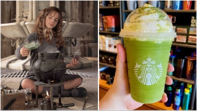 Magical Polyjuice Potion Frappuccino To Order At Starbucks