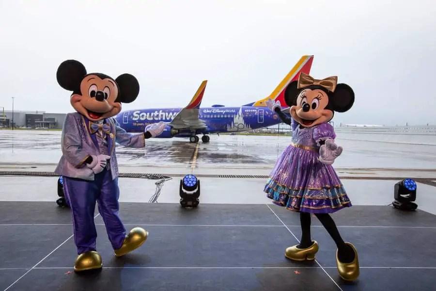 Disney & Southwest partner up for Disney World's 50th Anniversary