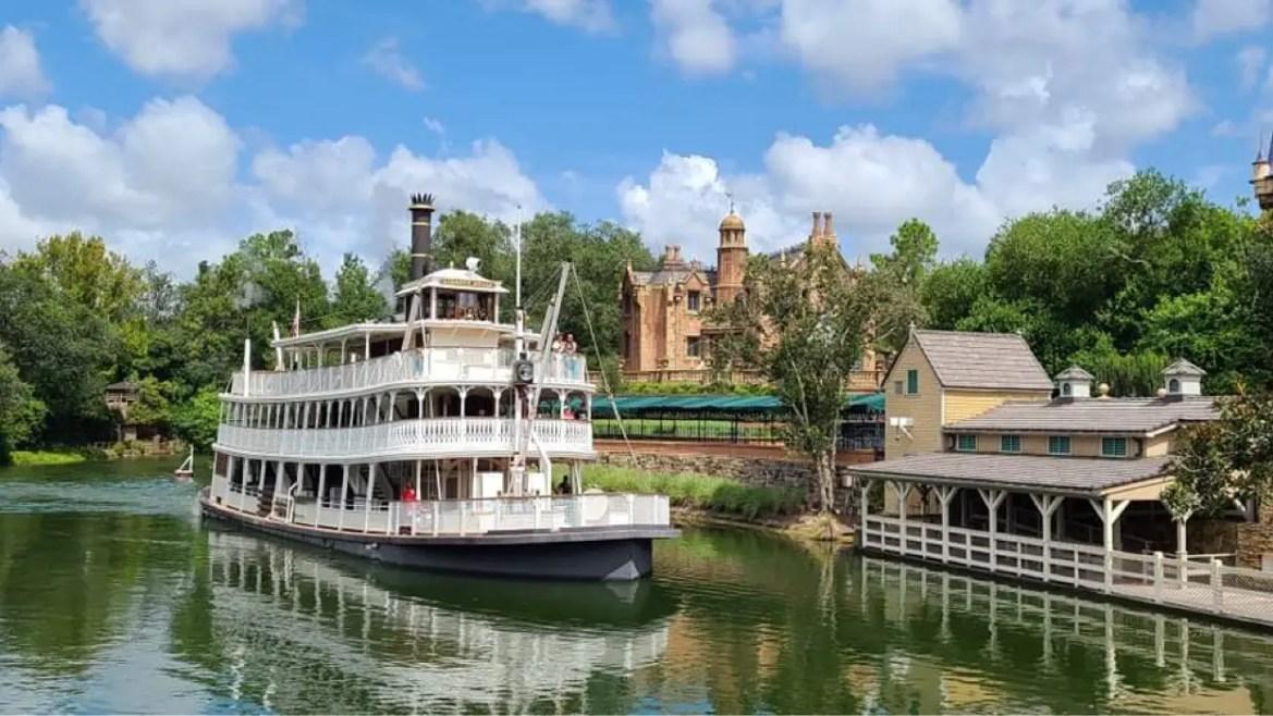 Liberty Square Riverboat returns after brief refurbishment
