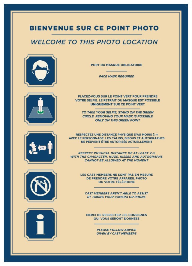 Disneyland Paris now allowing guests to take Mask Free Photos with Characters 2