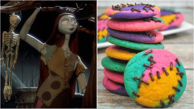 These Colorful Sally Sugar Cookies Are Perfect For Halloween!