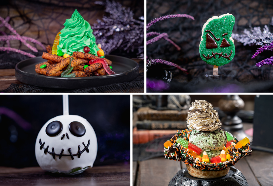 Halloween Themed Snacks & Treats you don't want to miss at Disneyland