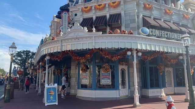 Walls Are Down Around Main Street Confectionery in the Magic Kingdom 2