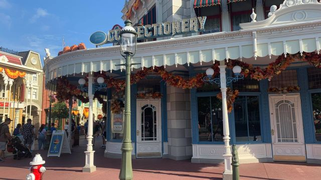 Walls Are Down Around Main Street Confectionery in the Magic Kingdom 3