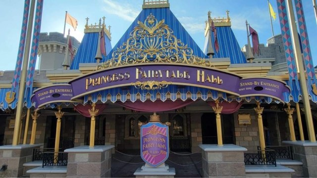 Princess Fairytale Hall exterior refurbishment is now complete 1