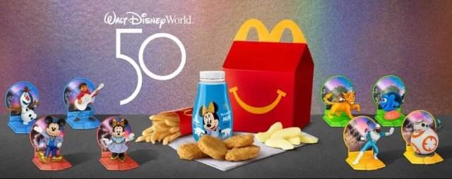 McDonald's Celebrates the Walt Disney World 50th Anniversary with New Happy Meal Toys 1
