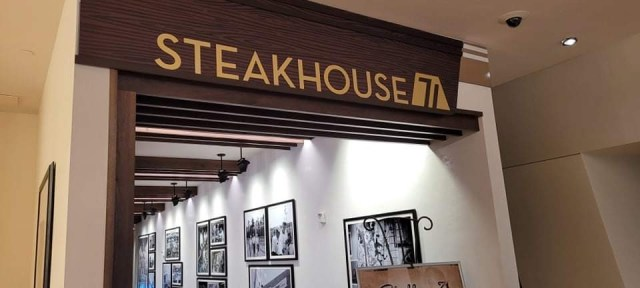 Look inside the all new Steakhouse 71 in Disney's Contemporary Resort 1