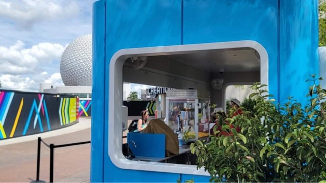 New Popcorn Stand is now open in Epcot 3