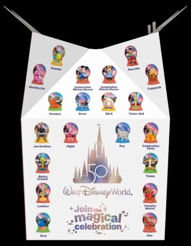 McDonald's Celebrates the Walt Disney World 50th Anniversary with New Happy Meal Toys 4