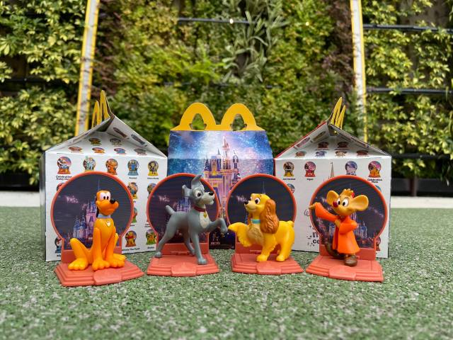 Disney World 50th Anniversary Happy Meal Toys Are Now at McDonald's 1