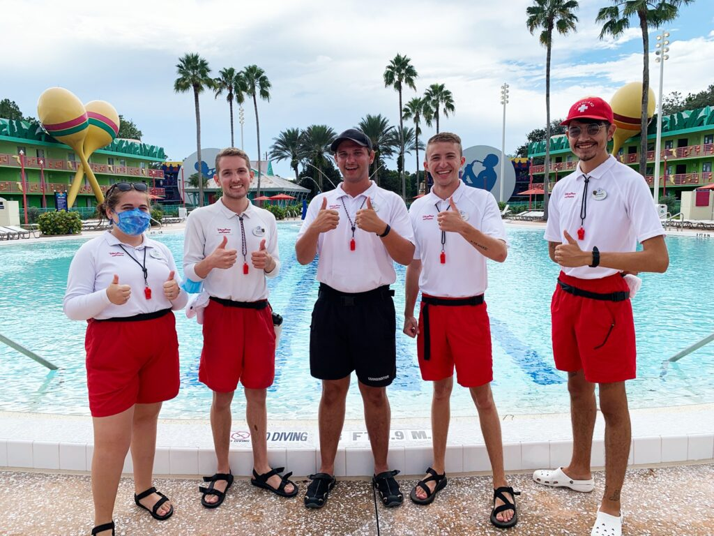 Disney Cast Members celebrate the reopening of All-Star Music Resort 4