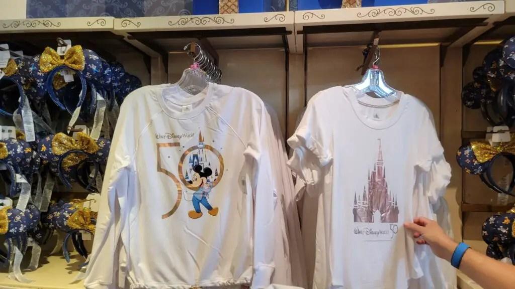 Disney World 50th Anniversary Collections at the Magic Kingdom 13
