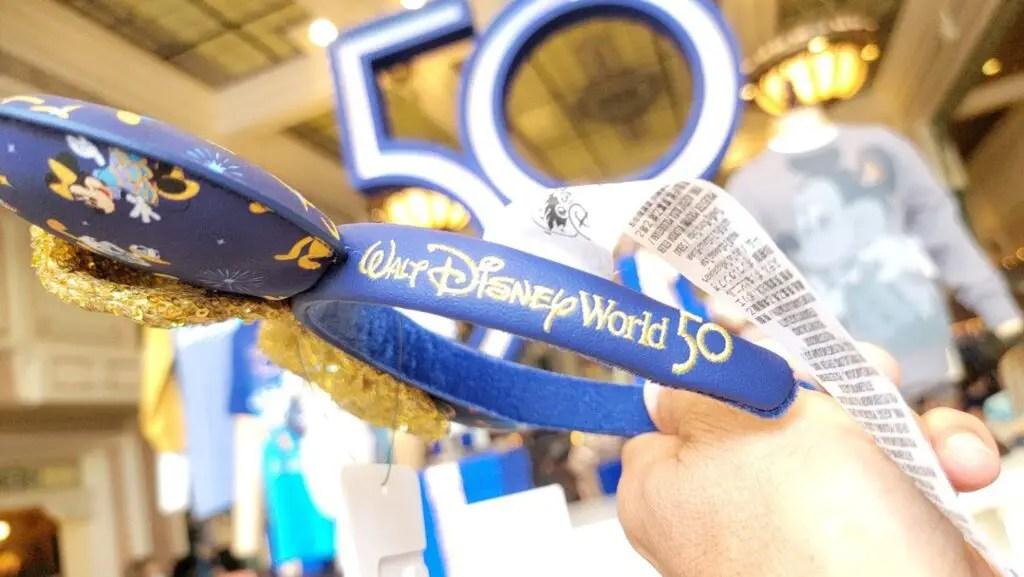 Disney World 50th Anniversary Collections at the Magic Kingdom 10