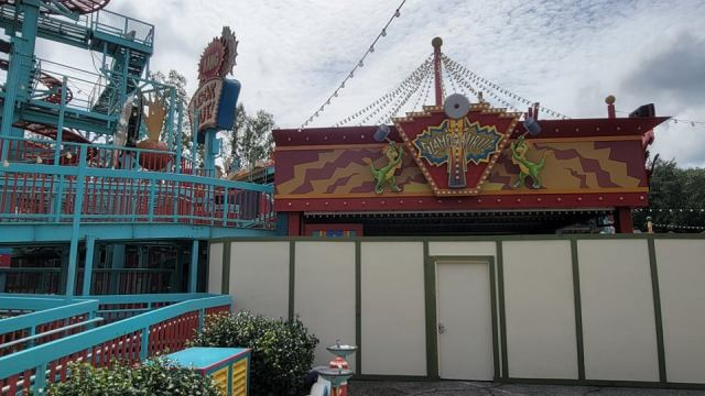 Walls Are Up Around Primeval Whirl in Disney's Animal Kingdom 6