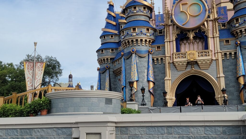New Cinderella Castle Stage is now complete 1