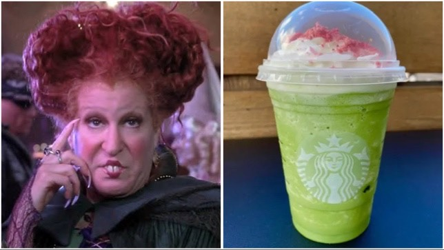 Winifred Sanderson Frappuccino To Have On Another Glorious Morning