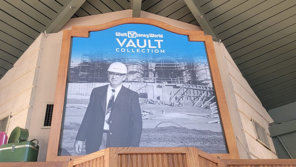 Walt Disney World 50th Anniversary Vault display now available in Epcot 1