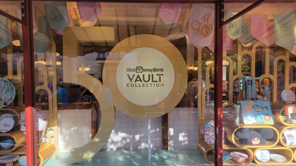 Walt Disney World 50th Anniversary Vault display now available in Hollywood Studios 2