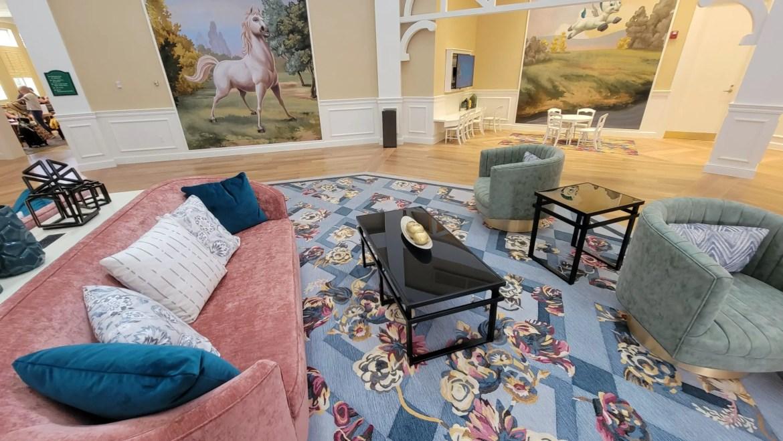 Disney's Saratoga Springs Resort lobby remodel is now complete