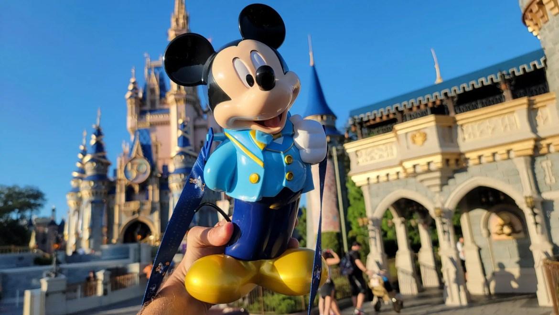 New Mickey 50th Anniversary Popcorn Bucket