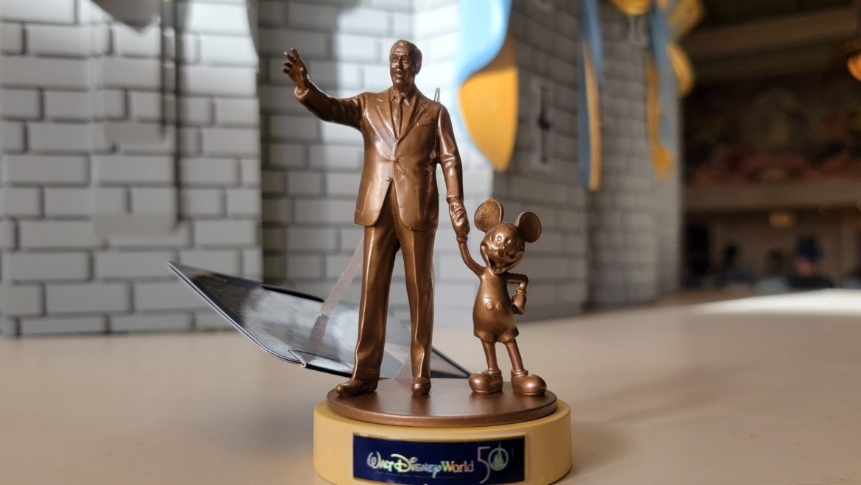 Walt Disney World 50th Anniversary Partners Statue Ornament
