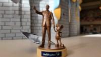 World 50th Anniversary Partners Statue Ornament