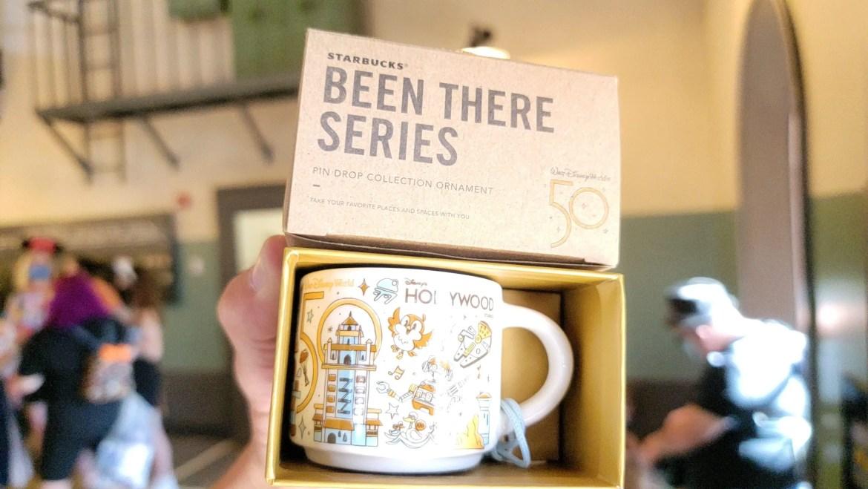 50th Anniversary Starbucks Mugs and Ornaments Arrive at Hollywood Studios