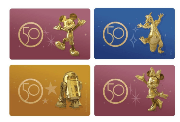 Disney World 50th Anniversary Magic Mobile Designs now available