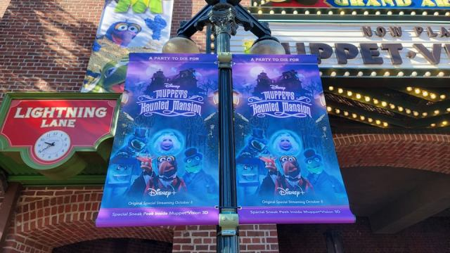 Muppets Haunted Mansion takes over Muppet Vision 3-D 2