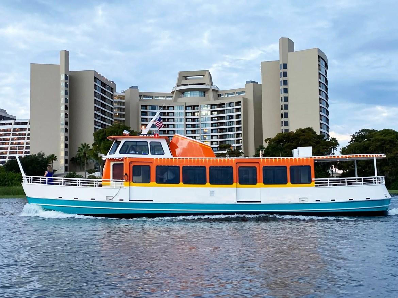 New Boat Makes a Splash at Walt Disney World