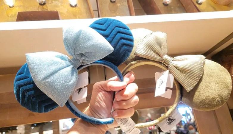 Azul Velvet Minnie Ears