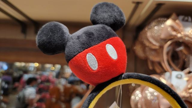 Cute New Plush Mickey Ears Featuring Mickey Ears! 2