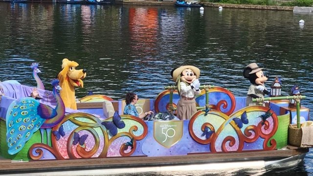 Animal Kingdom Character Float receieve 50th Anniversary Makeover 2