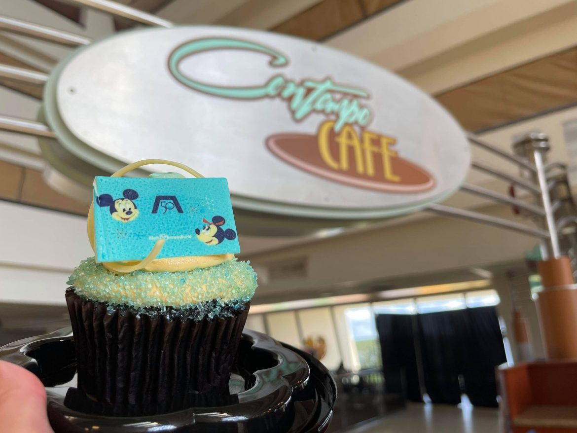 50th Anniversary German Chocolate Cupcake from Comtempo Cafe