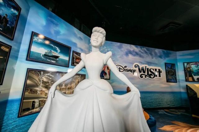 New Disney Wish Exhibit Now on display at Walt Disney Presents in Hollywood Studios 1