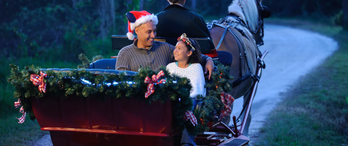 Holiday Sleigh Rides are returning to Disney World on December 1st