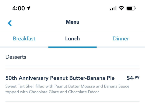 50th Anniversary Peanut Butter-Banana Pie is a sweet treat at the Contempo Cafe 2