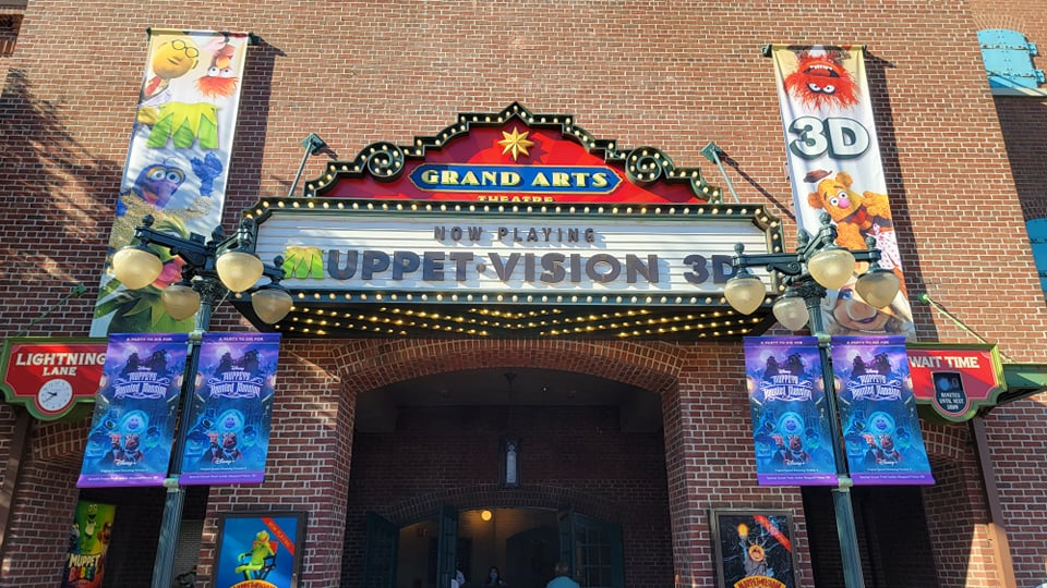 Muppets Haunted Mansion takes over Muppet Vision 3-D