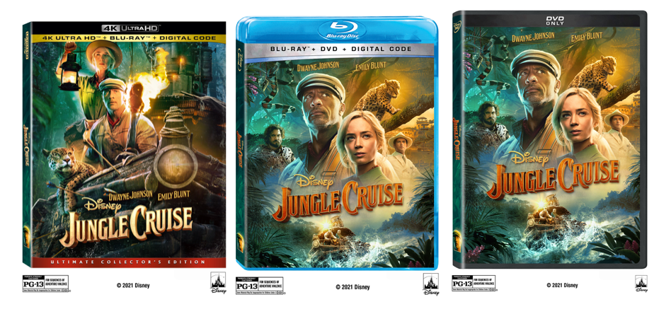Disney's 'Jungle Cruise' is Coming to Blu-ray & DVD This November