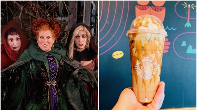 Have A Glorious Morning With This Hocus Pocus Latte You Can Order At Starbucks!