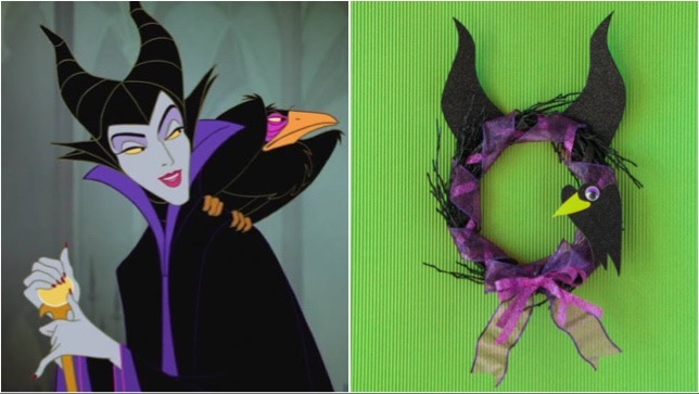 This Evil Maleficent Wreath Will Give Your Home All Those Villainous Vibes!