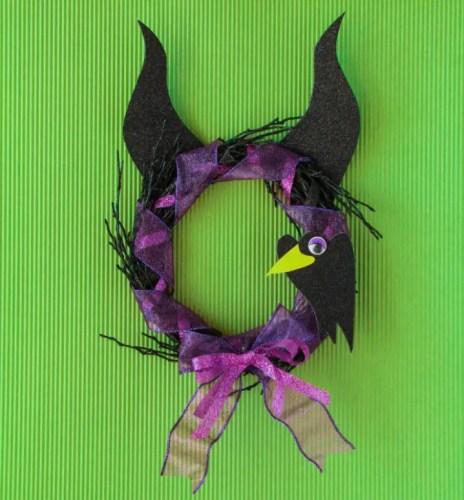 Maleficent wreath